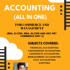 Accounting and Auditing Notes for UGC NET Commerce ebook