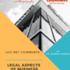 LEGAL ASPECTS OF BUSINESS cover Page - Business Legislation, law for UGC NET Commerce ebook