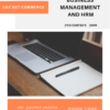 Business Management and HRM (UGC NET Commerce) Notes