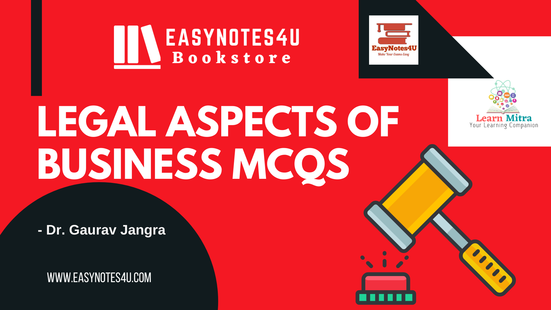 Legal Aspects of Business MCQs for UGC NET Commerce