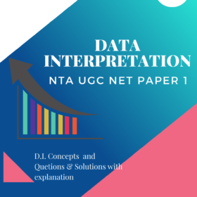 Data Interpretation (D.I.) Notes - NTA UGC NET Paper 1 eBook