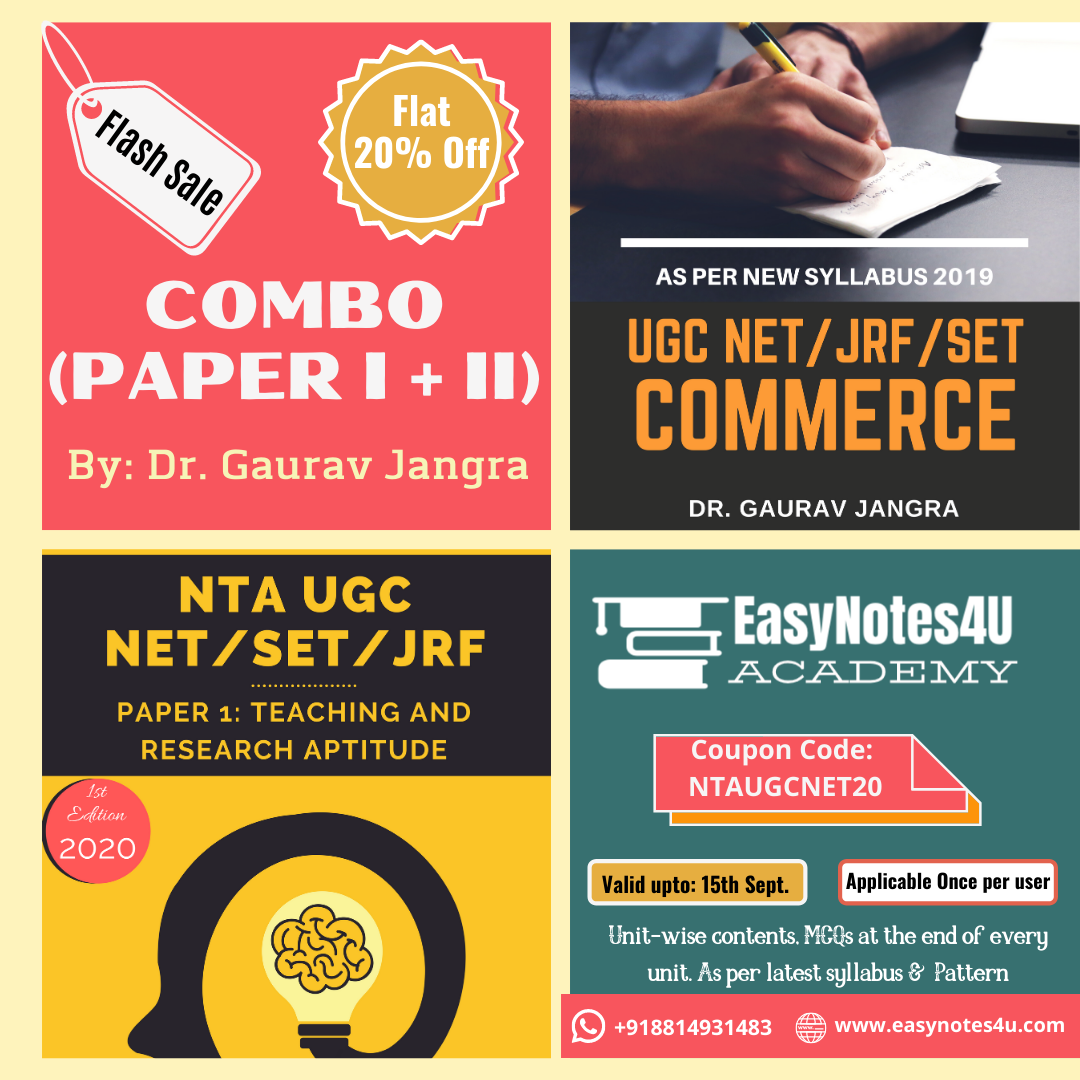 Combo Offer Paper 1 & Paper 2 Commerce Flat 20% Off